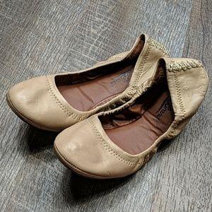 Lucky Brand Erin Ballet Flats Tan